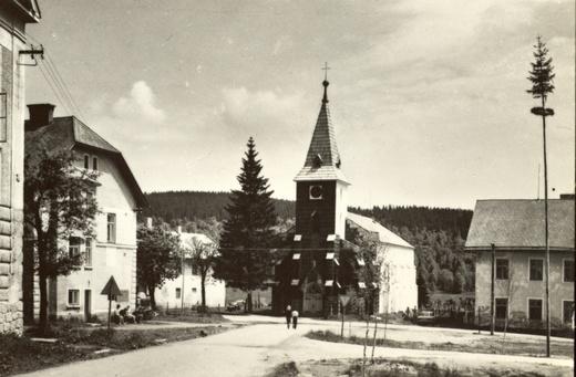 Kvilda kolem roku 1960